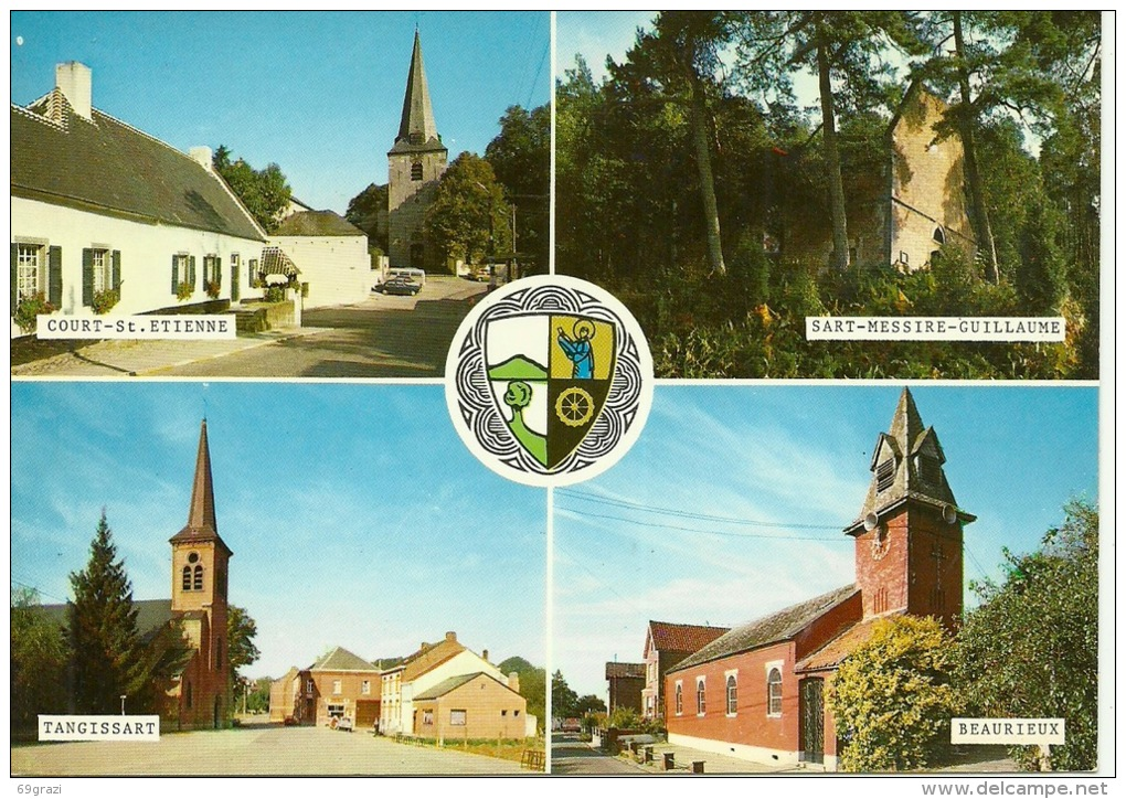 Court Saint Etienne Sart Messirr Tangissart Beaurieux - Court-Saint-Etienne