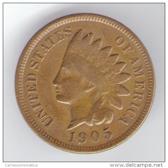 U.S.A. - STATI UNITI D' AMERICA - ONE CENT ( 1905 ) - INDIAN HEAD - Emissioni Federali