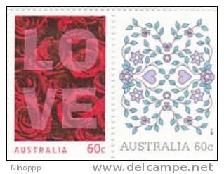 Australia-2011 Love MNH Set - 2010-... Elizabeth II