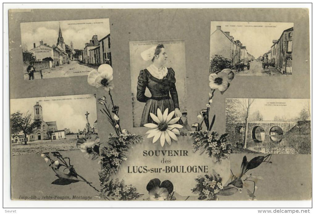 LES LUCS SUR BOULOGNE. - SOUVENIR. Multivues - Les Lucs Sur Boulogne