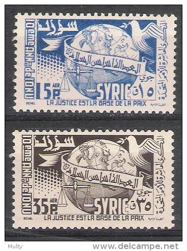 Syrie Y/T 80 / 81 (**) - Syrie