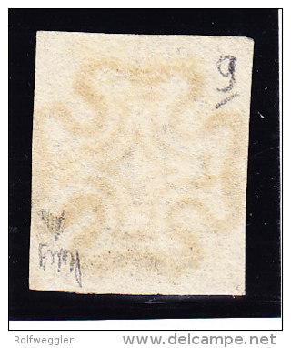 SG #1 - One Penny Black Vollrändig - Zentrierter Malteserkreuz Stempel - Platte 9 - Oblitérés