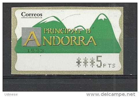 SPANISH ANDORRA - MNH MINT NEUF NUEVO - Spanish Andorra