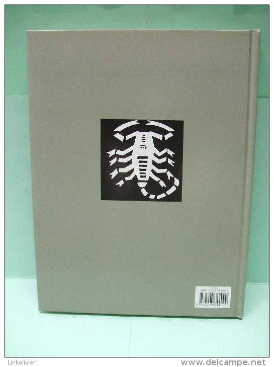 LES SCORPIONS DU DESERT Tome 2 - Hugo PRATT - Casterman 1998 - N° édition 32169 - Jaquette - Pratt