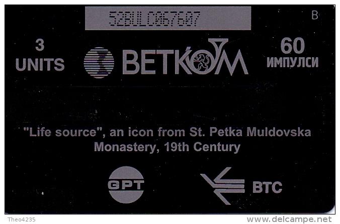 BULGARIA PHONECARD GPT(BETKOM)LIFE SOURCE CN:52 BULC   ,B067- 130000pcs-12/97-USED - Bulgarie