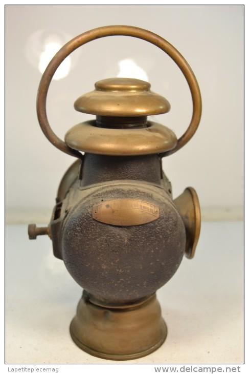 ancien phare lanterne a bougie de charrette fiacre ducellier. Black Bedroom Furniture Sets. Home Design Ideas