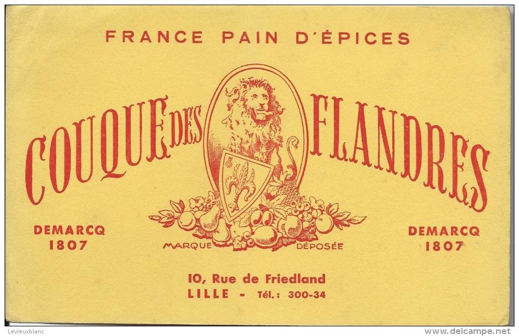 France Pain D´Epices/ Couque Des Flandres/ Demarcq /Lille / Vers 1945-1955    BUV116 - Gingerbread