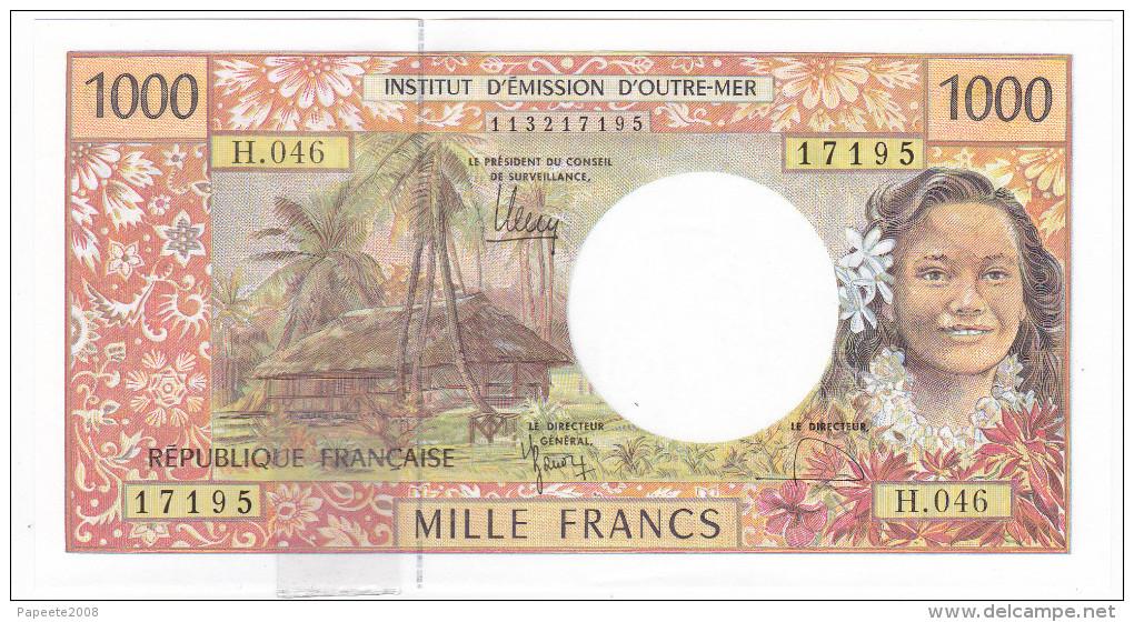 Polynésie Française / Tahiti - 1000 FCFP / H.046 / 2011 / Signatures Barroux-Noyer-Besse - Neuf / Jamais Circulé - Papeete (Polynésie Française 1914-1985)