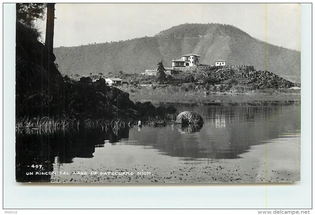 UN RINCON DEL LAGO DE PATZCUARO MICH (carte Photo). - Mexique