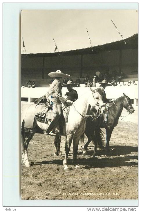 A.C.M.  CHARROS MEXICO (carte Photo ). - Mexique
