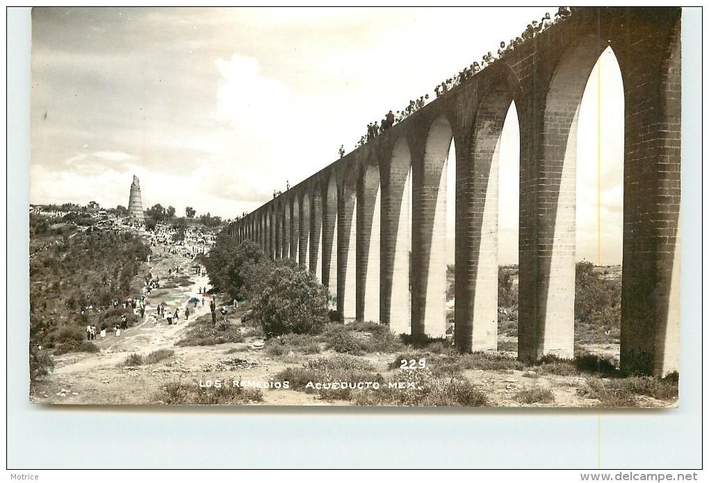 LOS REMEDIOS Acueducto Mex. (carte Photo ). - Mexique