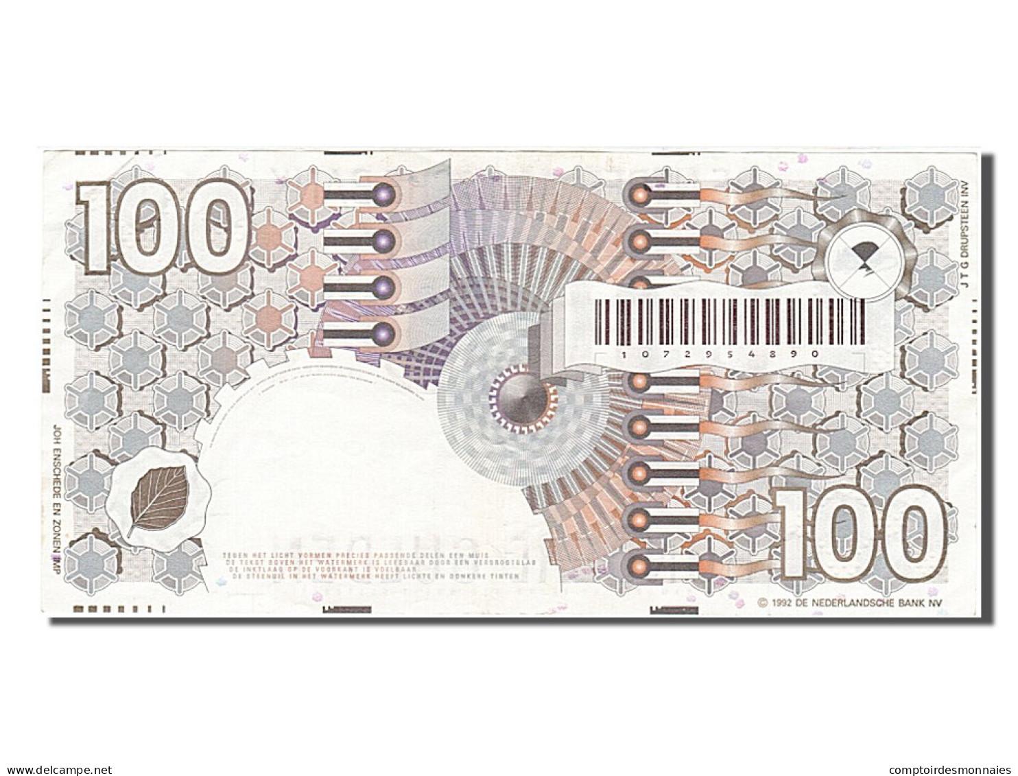 Pays-Bas, 100 Gulden, Type 1989-1997 - 100 Gulden