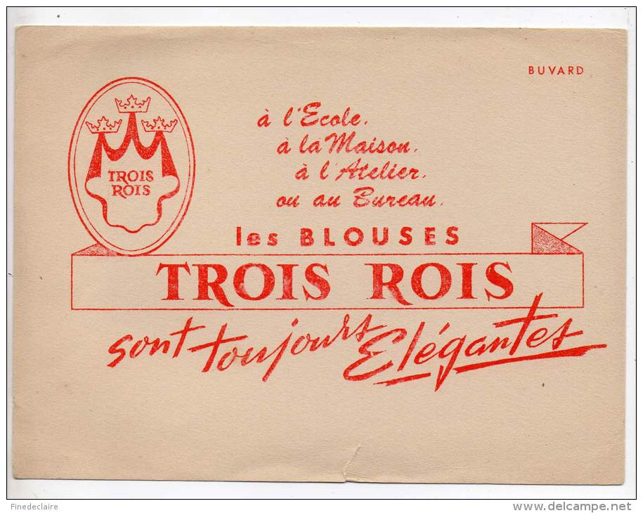 Buvard - Les Blouses Trois Rois - T