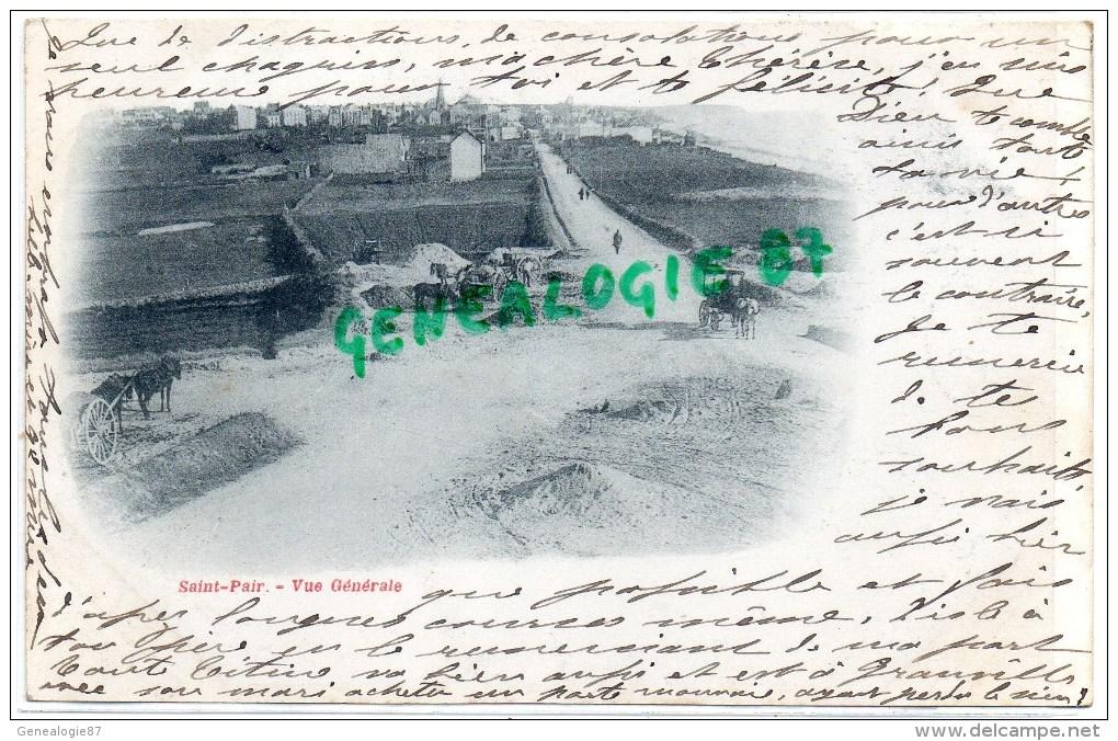 50-  SAINT PAIR SUR MER -  VUE GENERALE   CARTE PRECURSEUR 1900 - Saint Pair Sur Mer