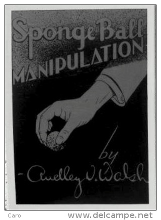 Walsh, Audley: Sponge Ball Manipulation (magie, Prestidigitation, Illusionnisme) - Livres, BD, Revues