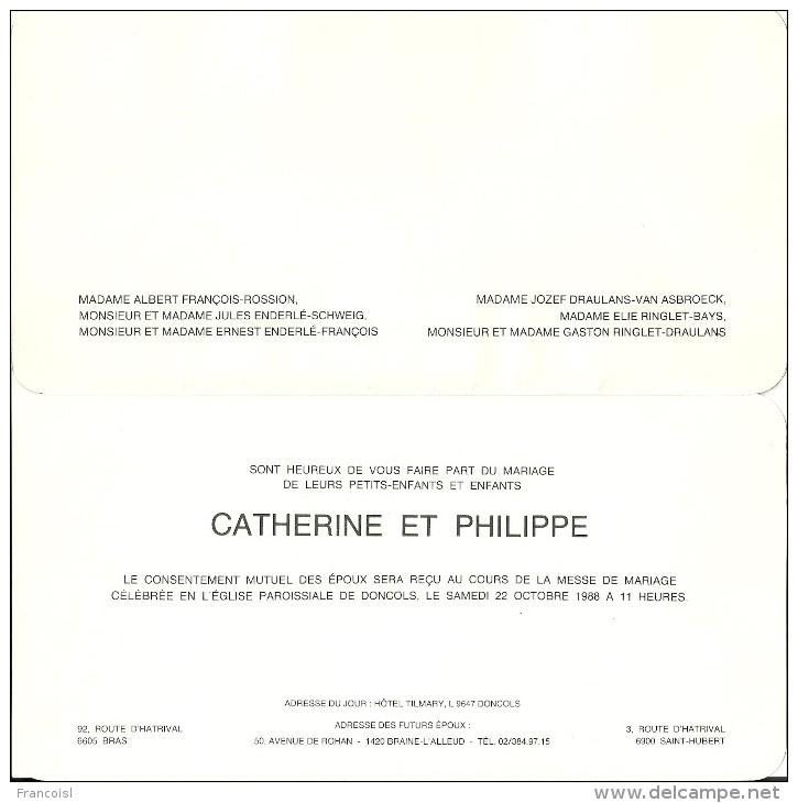 Catherine Et Philippe Draulans-François. Couple Dans La Campagne, Calèche. - Boda