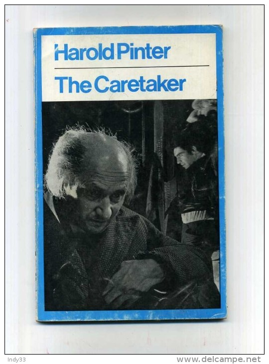 - THE CARETAKER . A PLAY BY H. PINTER . EYRE METHUEN . LONDON 1972 - Livres, BD, Revues