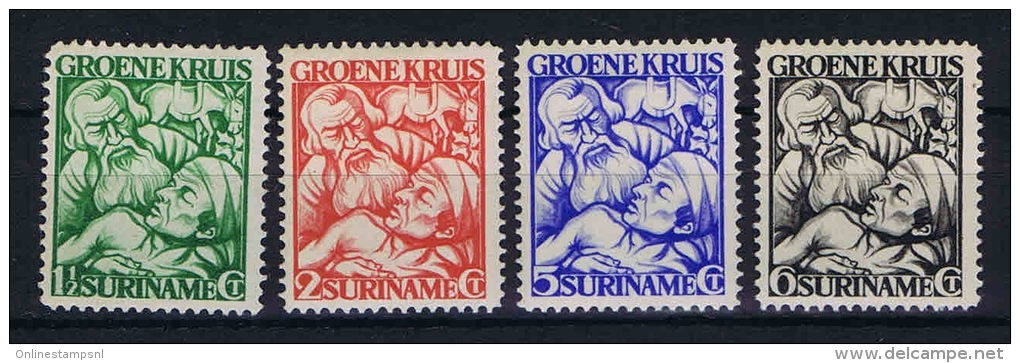 Suriname: NVPH 141-144 MH/*, 1929 - Suriname ... - 1975