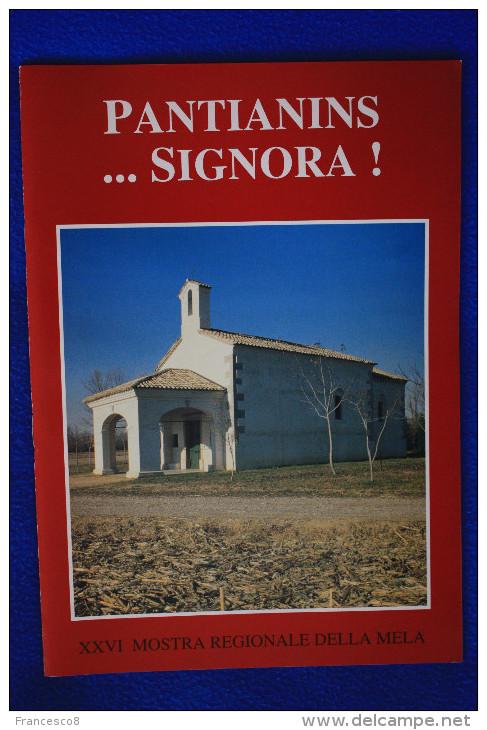 1995 PANTIANINS SIGNORA XXVI MOSTRA REGIONALE DELLA MELA N° 5 - Pantianicco / Mereto Di Tomba - Livres, BD, Revues