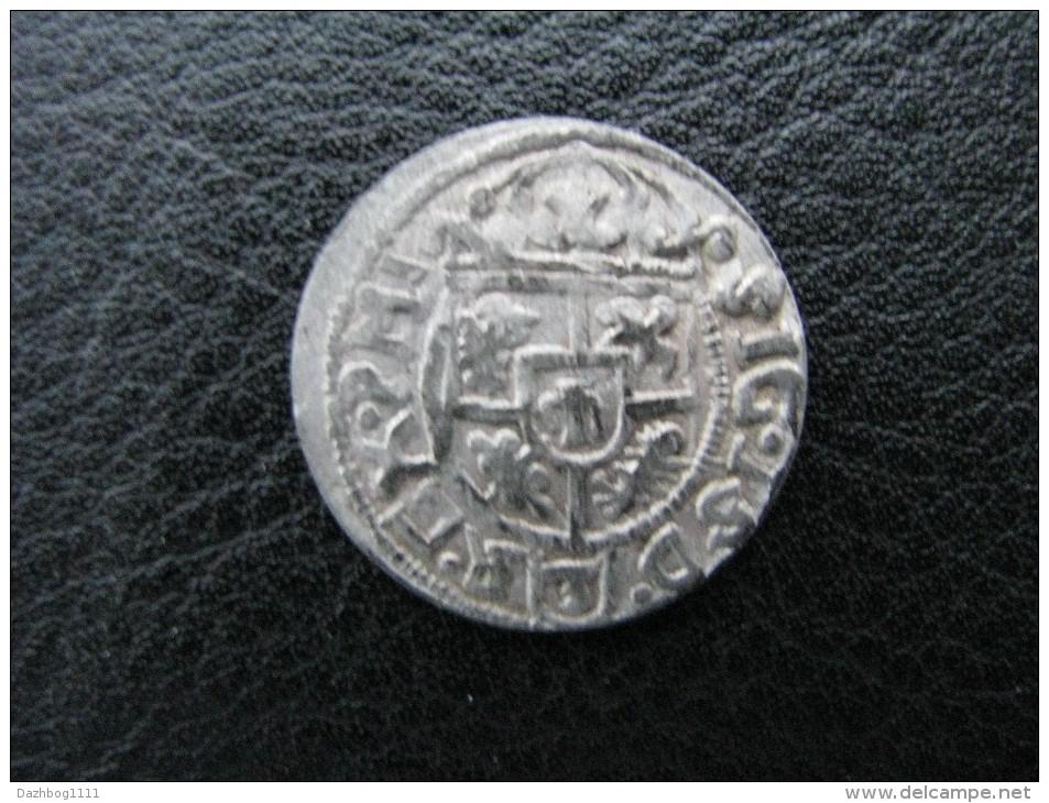 Ukraine Poland Coin Poltorak - 3 Polugrosha Forgery Since Peter Doroshenko Rare! - Polen