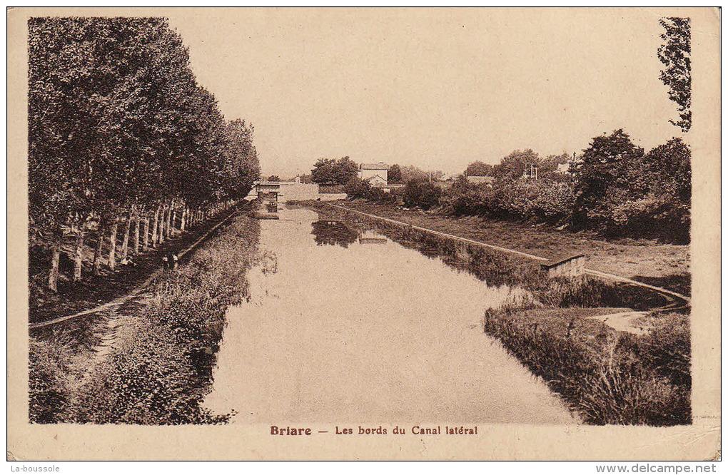 45 BRIARE - Les Bords Du Canal Latéral. - Briare