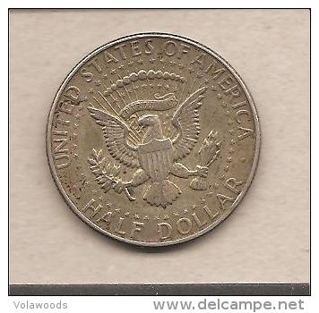 Usa moneta circolata da 50 centesimi di dollaro 1966 for Moneta 50 centesimi