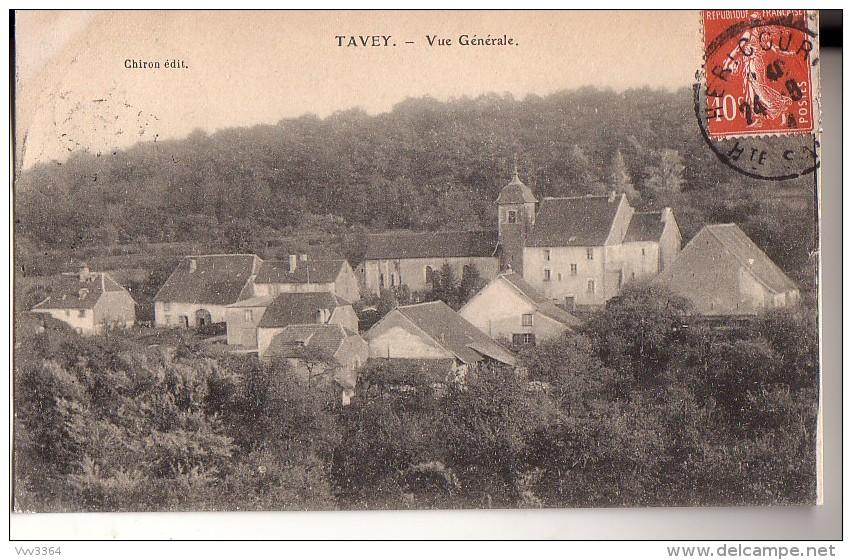 TAVEY: Vue Générale - Altri Comuni