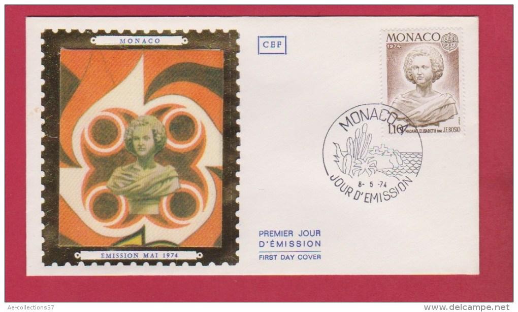 MONACO  //  1 ER JOUR  //  8/4/1974 - FDC