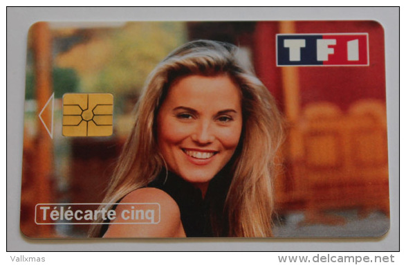 Tarjeta Francia Sophie FAVIER, Tirada 10000 - 5 Unidades