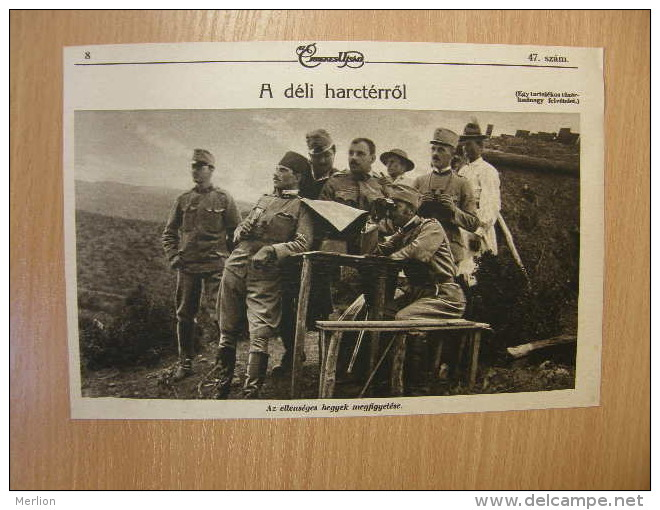 Poland - Przemysl Battle -Russian Prisoners - Ustro-Hungarian Army - WWI-grande Guerre 1914-18 - Print   W112 - Militaria