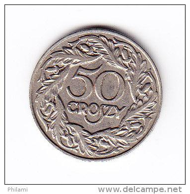 POLOGNE Y 13 1923, 50C. (4PM19) - Pologne