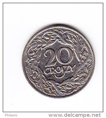 POLOGNE Y 12 1923, 20C. (4PM26) - Pologne