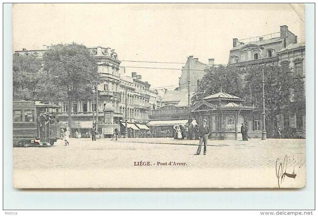 LIEGE  - Pont D'Avroy, Tramway. - Liege