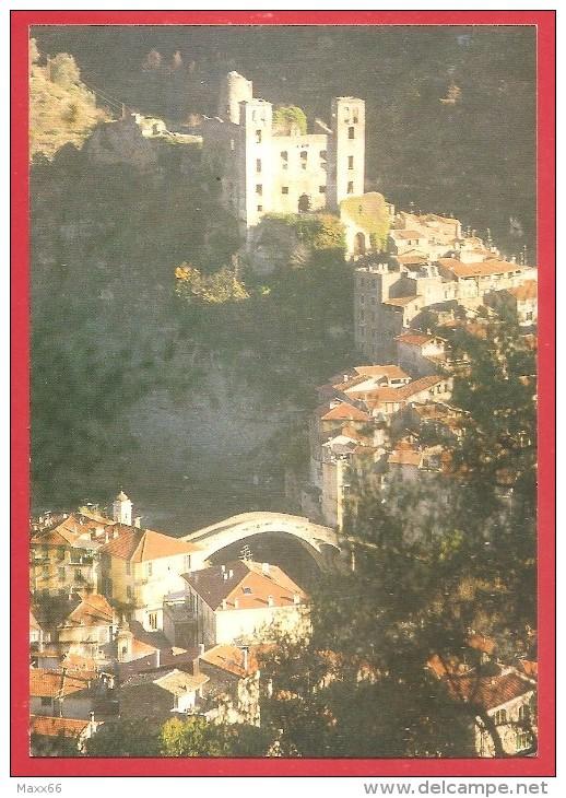 CARTOLINA NV ITALIA - DOLCEACQUA (IM) - Valle Nervia - Castello Dei Doria E Ponte Romano - 10 X 15 - Imperia