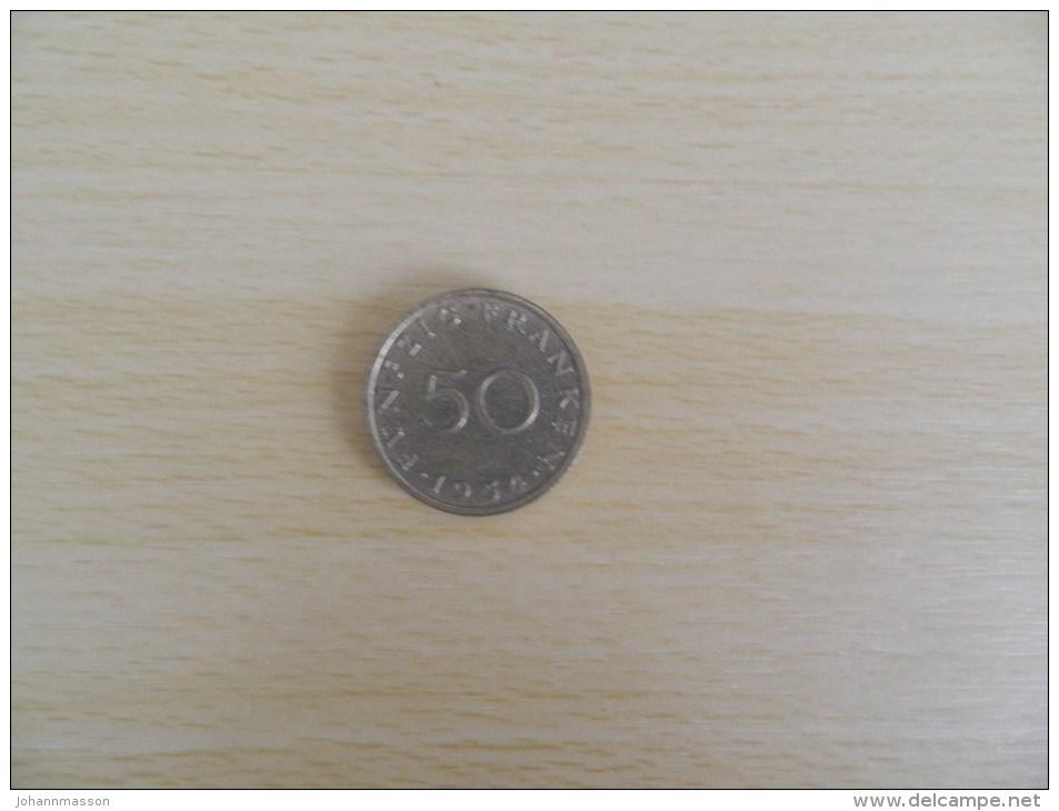 50  Franken 1954 - Sarre