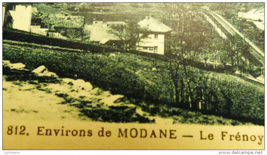 CPA OU CP   (voir Les  Scans) 73 MODANE  LE FRENOY ET L ARSENAL - Modane