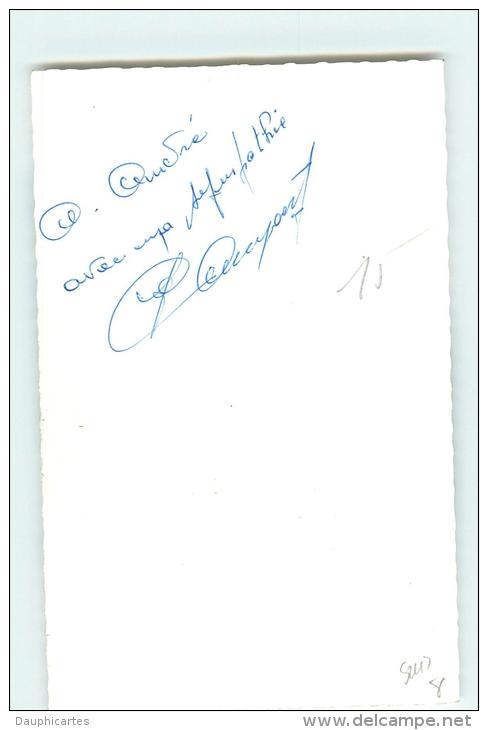 Jean Claude ANNAERT, Autographe Manuscrit, Dédicace (au Dos). 2 Scans. Ford France - Cycling
