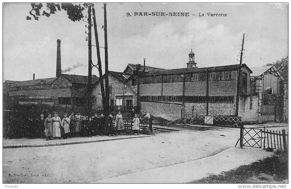 ¤¤   -  9   -  BAR-sur-SEINE   -  La Verrerie   -  Usine   -   ¤¤ - Bar-sur-Seine