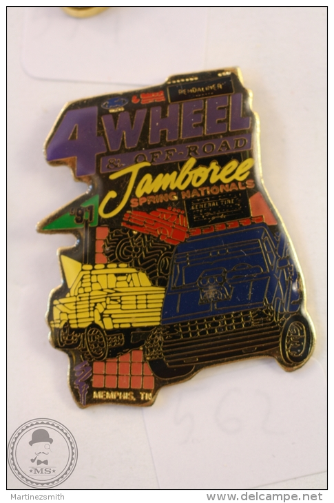 4 Wheel & Off Road Jamboree Spring Nationals Memphis United States  - Pin Badge #PLS - Pin