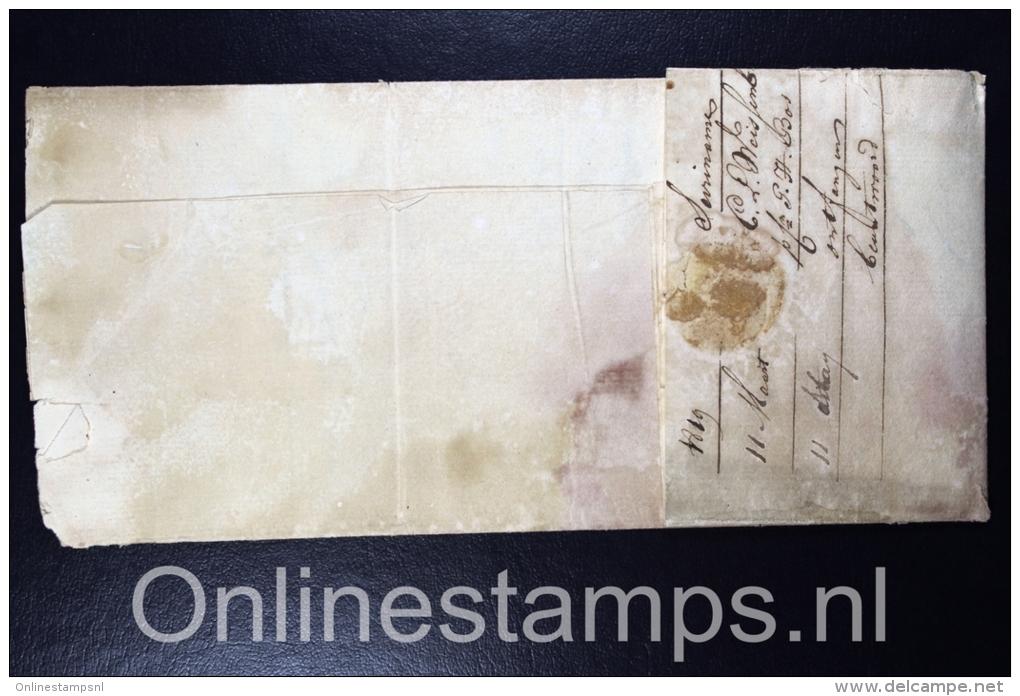 Suriname , 1819 Complete ZEEbrief  Suriname Via Den Helder Naar Amsterdam - Suriname ... - 1975