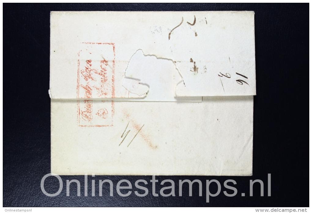 Switserland, Complete Letter 1816 Zurich To Haarlem - The Netherlands, - ...-1845 Voorlopers