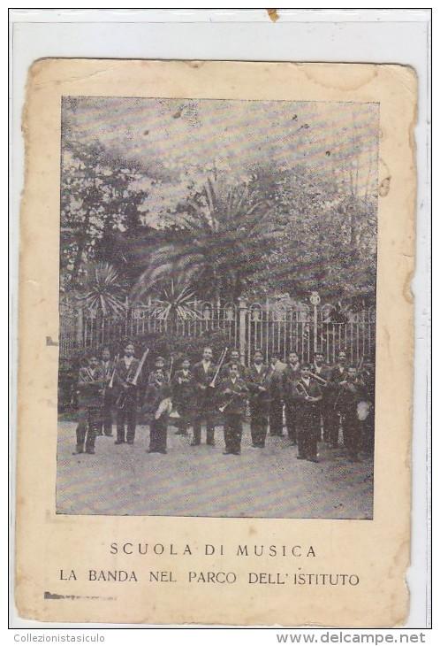 3-3201- Ponticelli - Napoli - Scuola Di Musica Istituto Tropeano - La Banda - F.g. Viaggiata - Napoli
