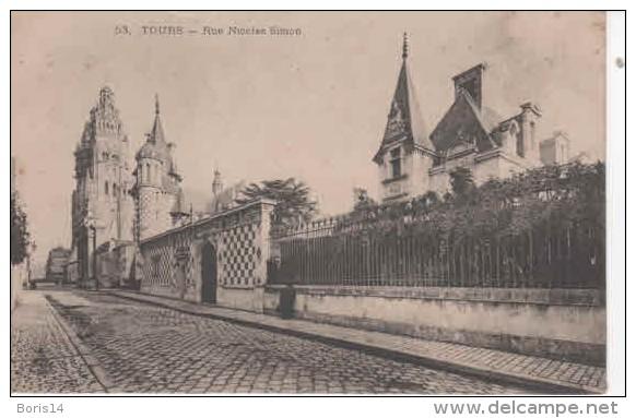 37- 50731 -  TOURS -  RUE NICOLAS  SIMON - Tours