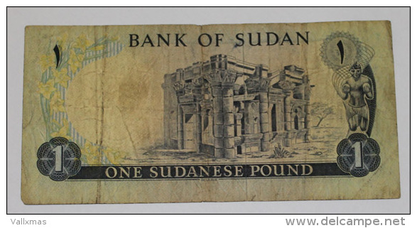Billete Sudan 1 Pound - Sudan