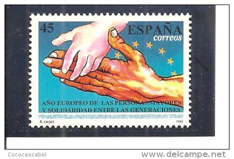 España/Spain-(MNH/**) - Edifil  3272 - Yvert  2864 - 1991-00 Nuevos & Fijasellos