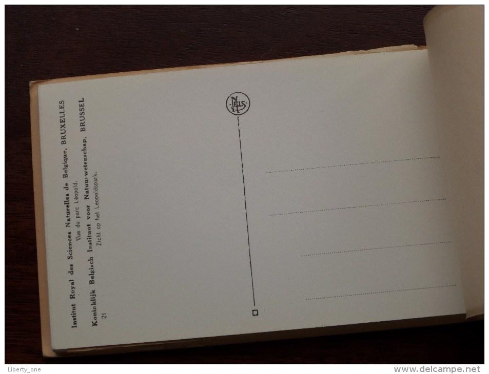 Inst. Royal Des SCIENCES Naturelles - Carnet 20 Cartes Vues / Compleet ( PK / CP - Zie Foto´s Voor Details ) !! - Museums