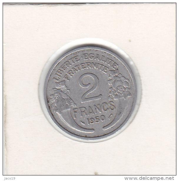 2 FRANCS Alu MORLON 1950 - I. 2 Francs