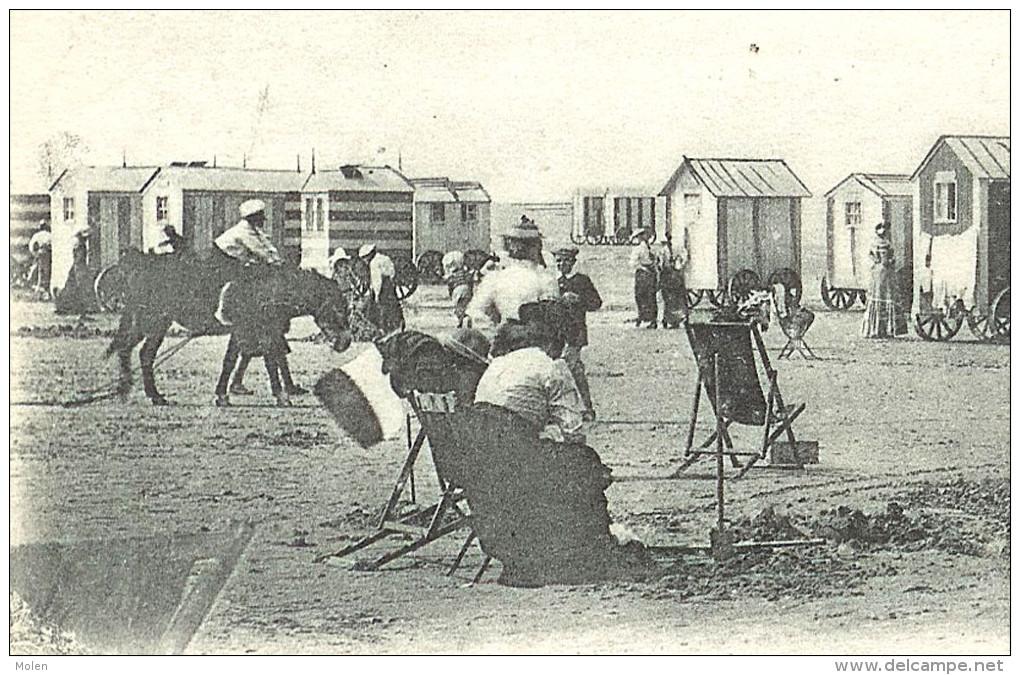 HEYST 1903 AU LITTORAL BELGE * LA SIESTE SUR LA PLAGE * KNOKKE-HEIST - KUST - LITTORAL  1694 - Heist