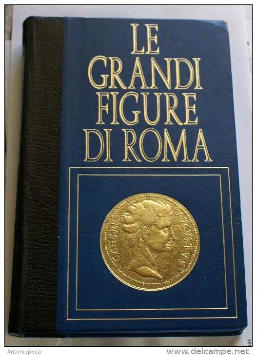 """COLLEZIONE 18 MEDAGLIE IN PELTRO ARGENTATO """"LE GRnADI FIGURE DI ROMA"""" - Archeologia"""