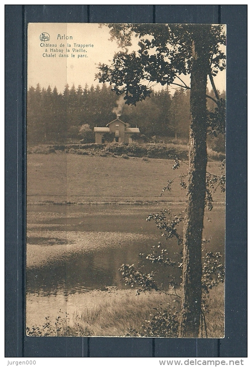 ARLON: Chateau De La Trapperie A Habay La Vieille, Niet Gelopen Postkaart (GA13390) - Arlon